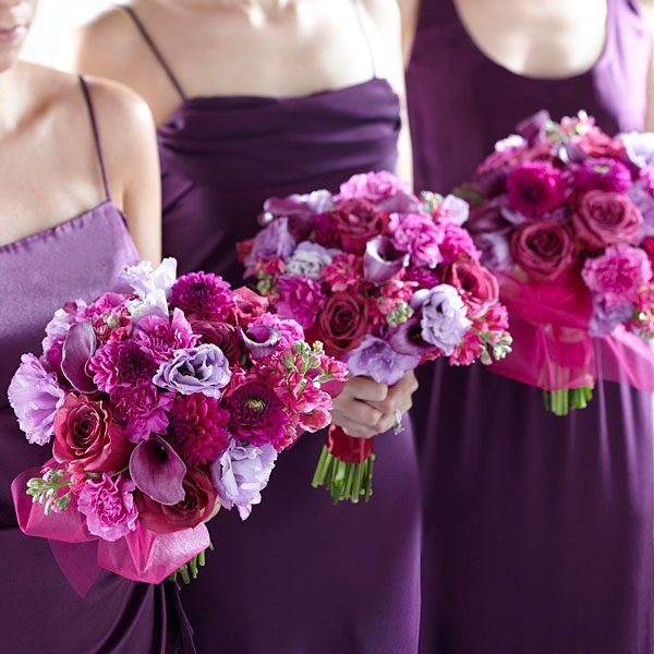 Bridesmaids Garden Bouquet