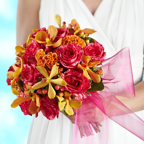 Brilliant Shades of Love Bouquet