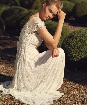 Phase Eight Liliana Embellished Bridal Dress