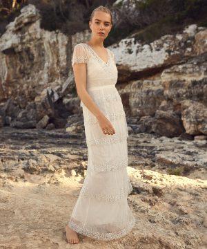 Phase Eight Nyelle Layered Bridal Dress