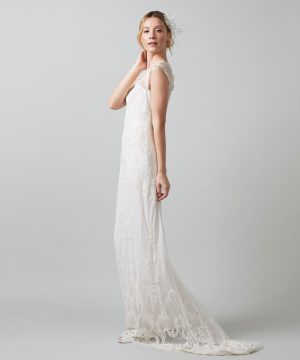 Phase Eight Oriana Embroidered Bridal Dress