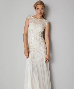 Phase Eight Sabina Embellished Bridal Dress