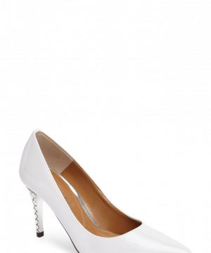 Women's J. Renee 'Maressa' Pointy Toe Pump, Size 7.5 AA - White