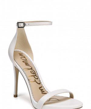 Women's Sam Edelman Ariella Ankle Strap Sandal, Size 9 M - White