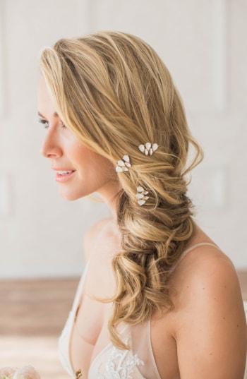 Brides & Hairpins Kalliope Set Of 3 Hair Pins