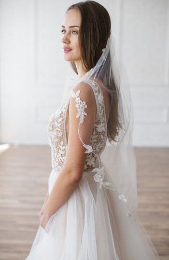 Brides & Hairpins Mikaela Embellished Veil