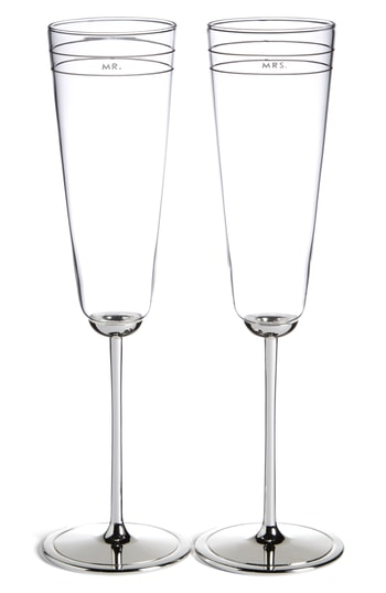 Kate Spade New York 'Darling Point' Champagne Flutes