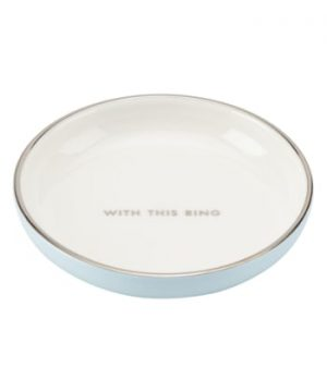 Kate Spade 'Take The Cake' Ring Dish - White