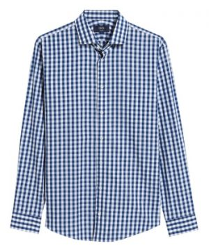 Men's 1901 Trim Fit Check Dress Shirt