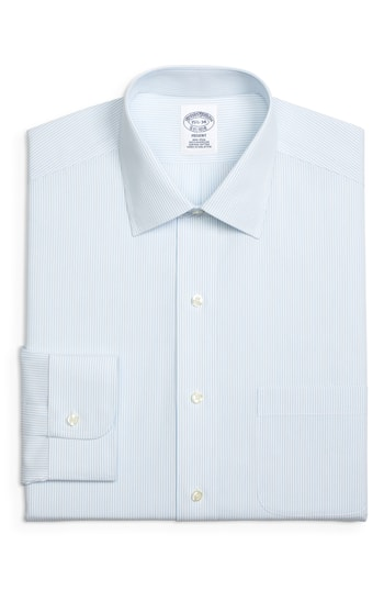 Men's Big & Tall Brooks Brothers Regular Fit Stripe Dress Shirt