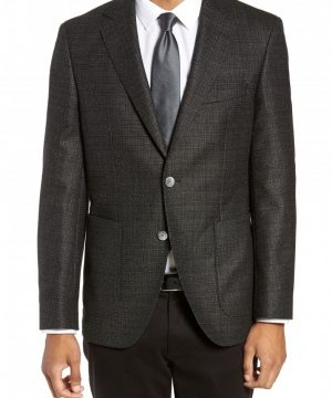 Men's Boss Janson Classic Fit Wool Blazer
