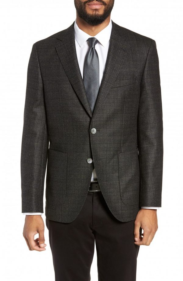 Men's Boss Janson Classic Fit Wool Blazer