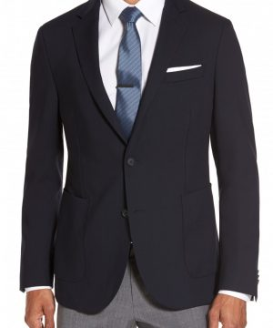 Men's Boss Nelven Trim Fit Travel Blazer