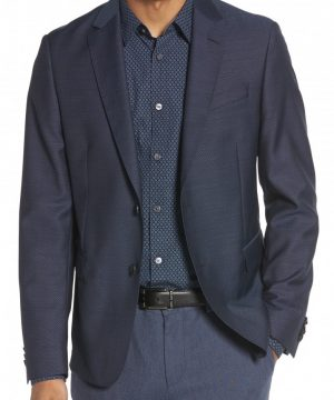 Men's Boss Nobis Trim Fit Wool Blazer