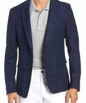 Men's Boss Nobis Trim Fit Wool Blend Blazer