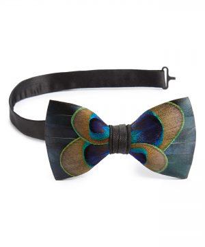 Men's Brackish & Bell Aberdeen Feather Bow Tie
