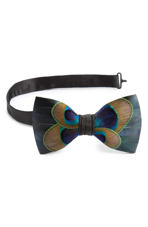 Men's Brackish & Bell Aberdeen Feather Bow Tie