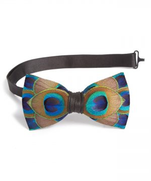 Men's Brackish & Bell Hammock Feather Bow Tie