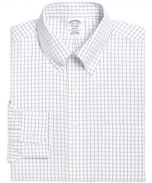 Men's Brooks Brothers Regular Fit Check Dress Shirt (3 For $207)