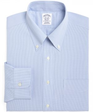 Men's Brooks Brothers Regular Fit Houndstooth Dress Shirt (3 For $207)