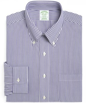 Men's Brooks Brothers Trim Fit Stripe Dress Shirt (3 For $207)