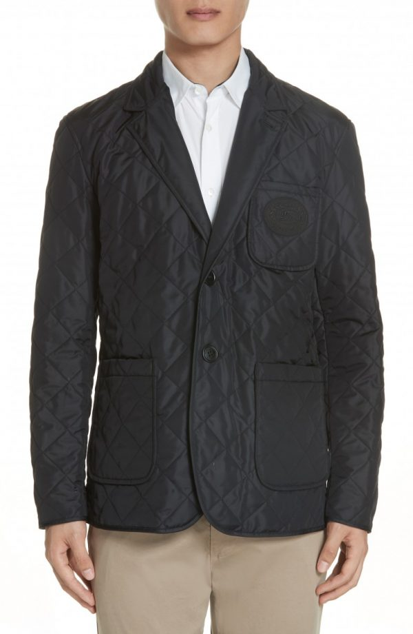 Men's Burberry Clifton Quilted Blazer