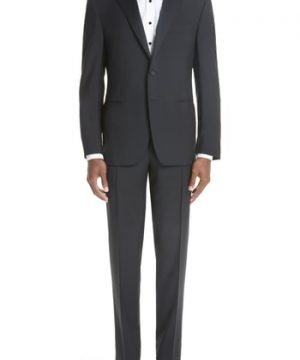 Men's Canali 13000 Classic Fit Wool & Mohair Tuxedo