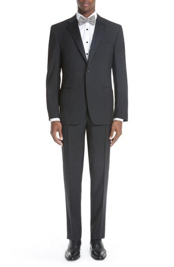 Men's Canali 13000 Classic Fit Wool & Mohair Tuxedo
