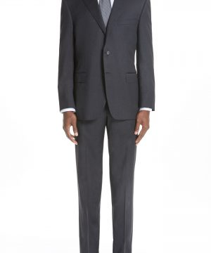 Men's Canali Classic Fit Wool Suit