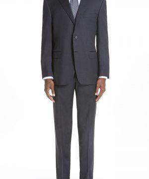 Men's Canali Classic Fit Wool Suit
