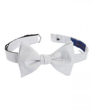 Men's David Donahue Dot Silk Bow Tie