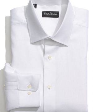 Men's David Donahue Regular Fit Oxford Dress Shirt