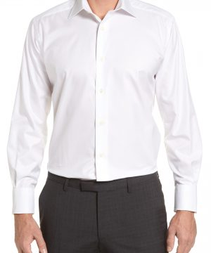 Men's David Donahue Regular Fit Solid Dress Shirt