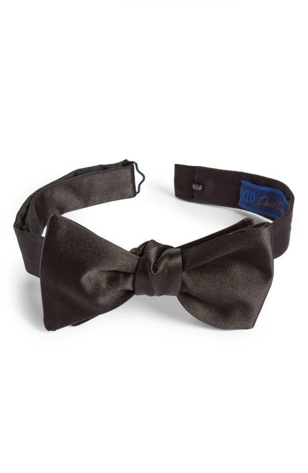 Men's David Donahue Silk Bow Tie