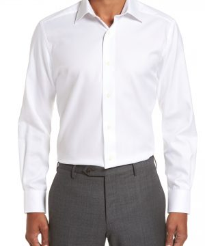 Men's David Donahue Trim Fit Dress Shirt