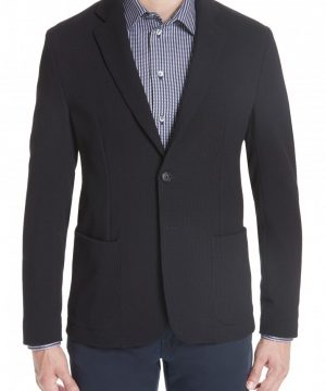 Men's Emporio Armani Slim Fit Stretch Cotton Blend Blazer