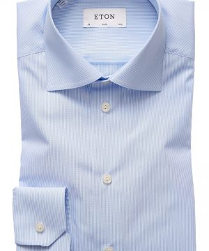 Men's Eton Extra Slim Fit Stripe Dress Shirt