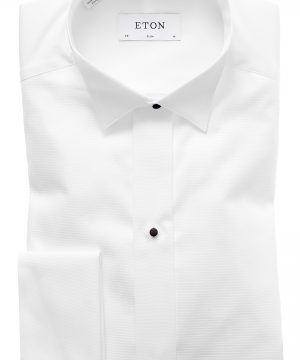 Men's Eton Slim Fit Wing Collar Dress Shirt