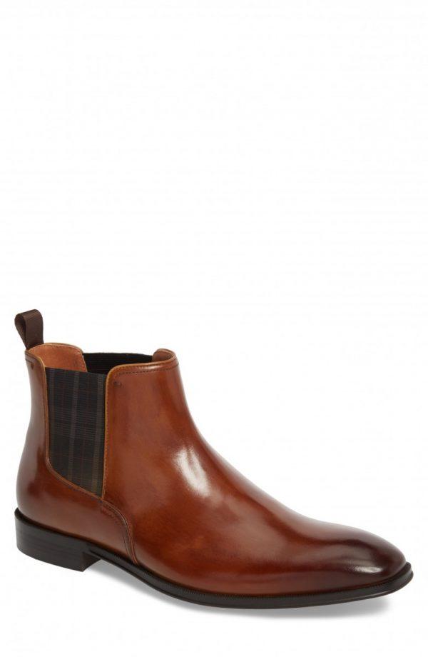 Men's Florsheim Belfast Chelsea Boot, Size 12 D - Brown