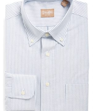 Men's Gitman 'Cambridge Oxford' Regular Fit Stripe Dress Shirt