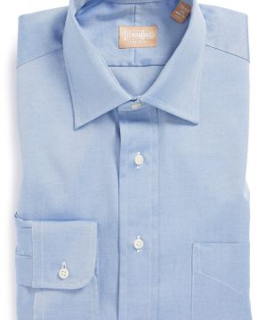 Men's Gitman Regular Fit Pinpoint Cotton Oxford Point Collar Dress Shirt
