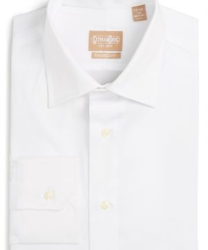 Men's Gitman Tailored Fit Solid Dress Shirt