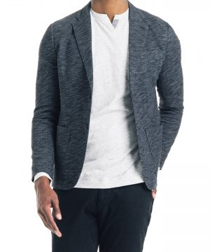 Men's Good Man Brand Slim Fit Vintage Twill Knit Sport Coat