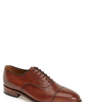 Men's Johnston & Murphy 'Melton' Oxford, Size 11 D - Brown