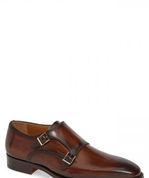 Men's Magnanni Landon Double Strap Monk Shoe