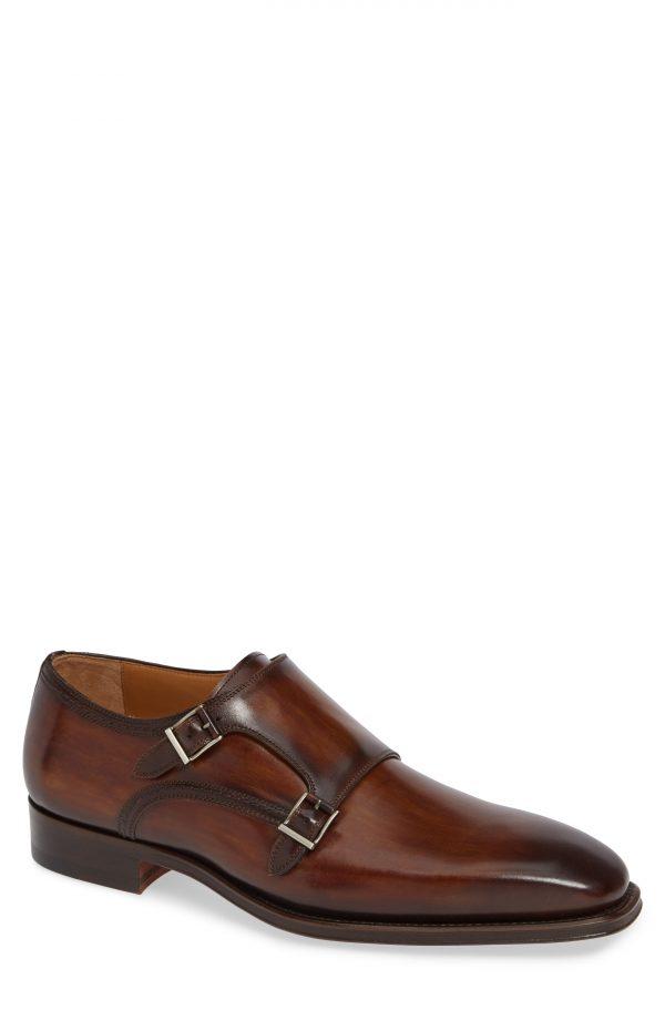 Men's Magnanni Landon Double Strap Monk Shoe
