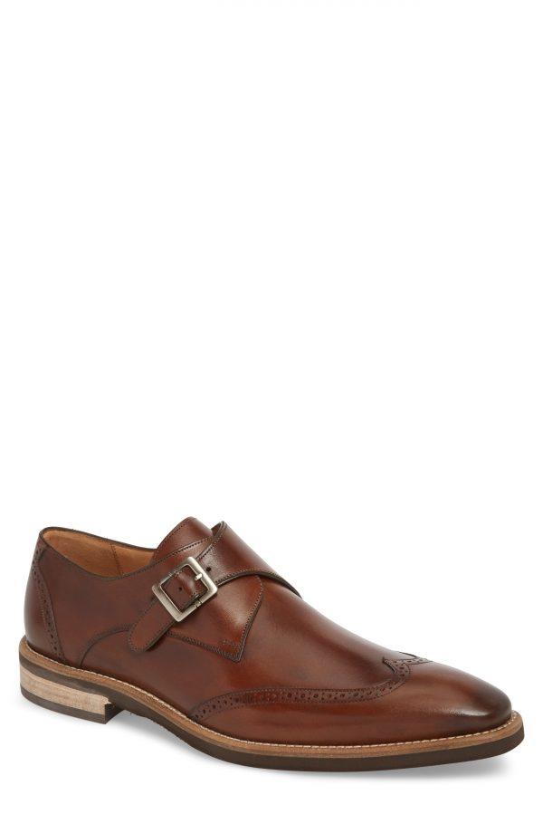 Men's Mezlan Feresta Wingtip Monk Shoe