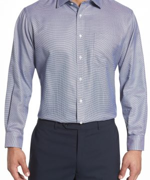 Men's Nordstrom Men's Shop Classic Fit Microgrid Dress Shirt