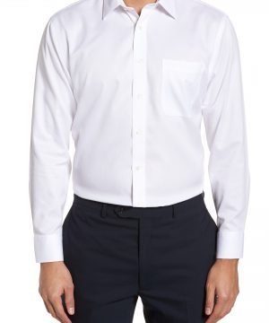 Men's Nordstrom Men's Shop Smartcare(TM) Trim Fit Dress Shirt