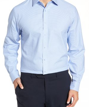 Men's Nordstrom Men's Shop Tech-Smart Traditional Fit Stretch Solid Dress Shirt